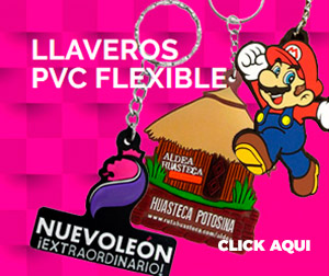 LLAVEROS PVC Flexible